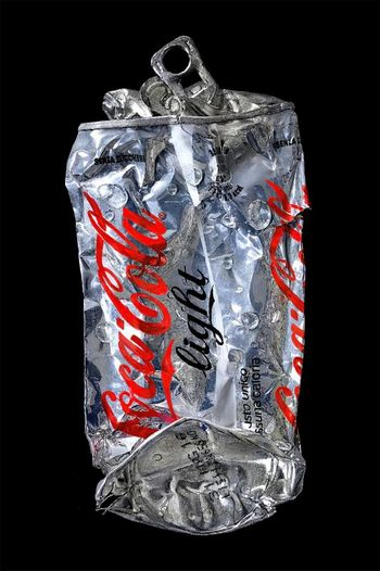 Crushed Coca-Cola Silver-B