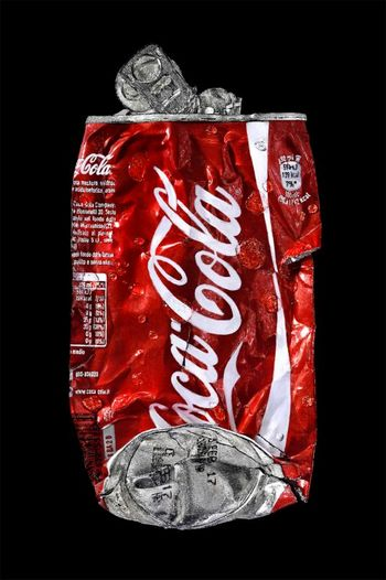Crushed Coca-Cola Red-B
