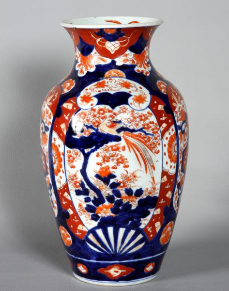 Large vase: IMARI, 33 cm high, from the 19th