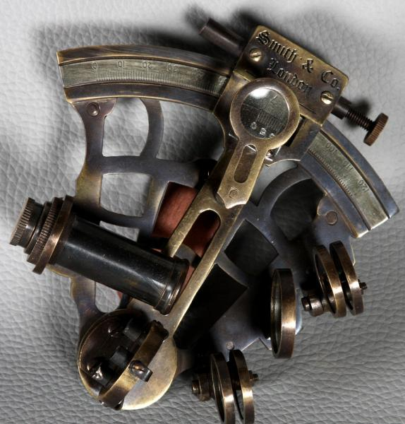 Sextant from 1930, brand: Smith