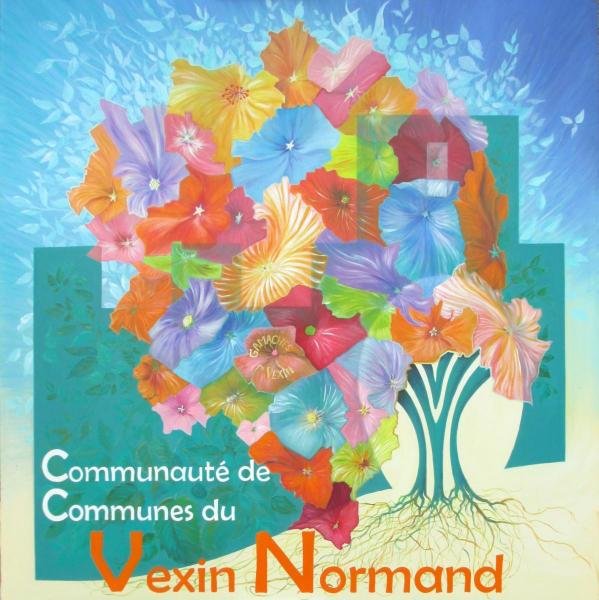 En carte cdc-vexin-normand : Communauté de communes du Vexin Normand