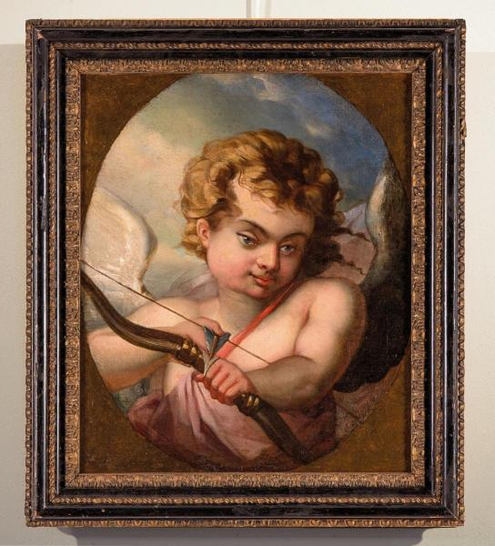 Cupid Who Shoots His Arrow, Entourage By François Boucher (1703-1770)
