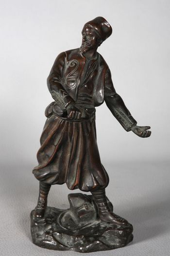 Georges OMERTH – Zouave en bronze