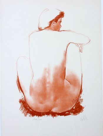 Lithograph by Antonucci VOLTI, Signed by the artist