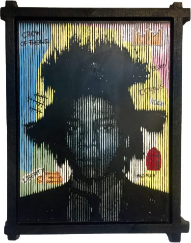 Engraving JEAN-MICHEL BASQUIAT