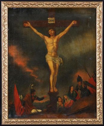 Christ on the Cross - French School of the 17th century