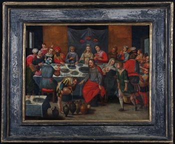 Workshop of Martin Van CLEVE 1527/1581 - Les Noces de Cana