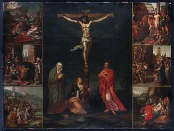 Workshop of Otto VENIUS - Scenes of the Passion of Christ - Ec