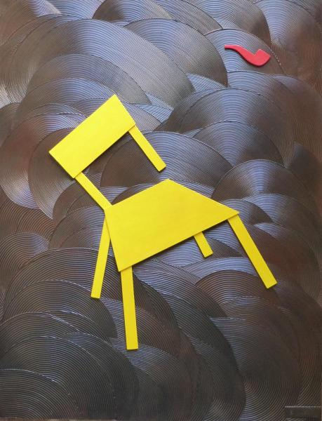 "Emile G ""Chair in the storm"""