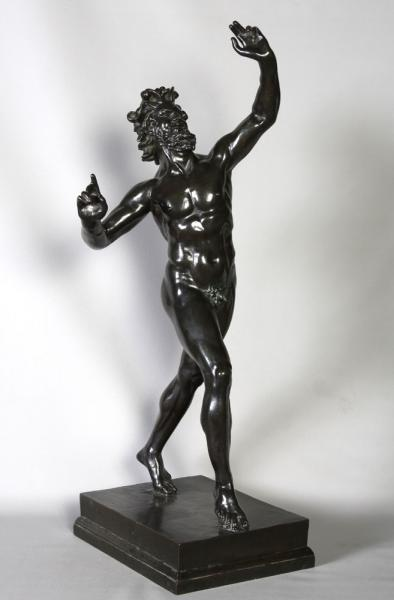 Bronze 19th, Wildlife of Pompei, 83 cm